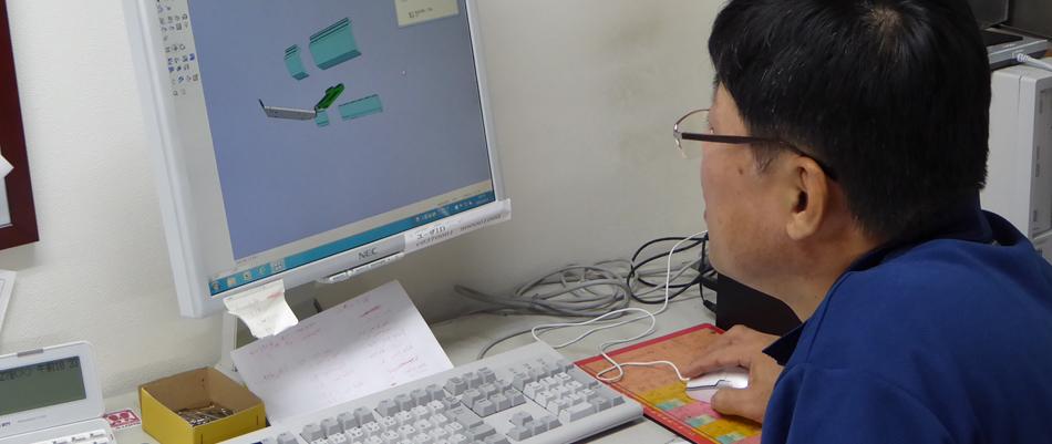 CAD/CAM担当Mグループリーダー